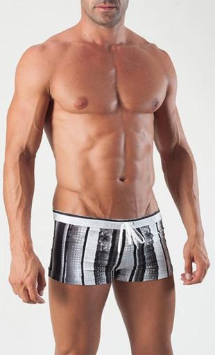 Pánské boxerkové plavky GERONIMO 1511 s nohavičkou