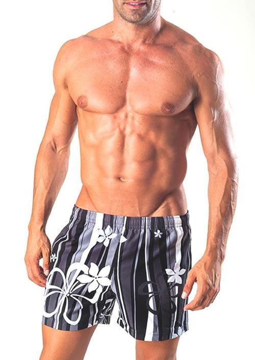 Černé plavky šortky Geronimo 1503P1