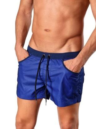 Modré sportovní trendy plavky GERONIMO 1410P1