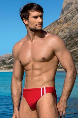 Levné pánské sportovní plavky adamky s vykrojenou nohavičkou