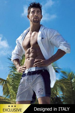 Pánské italské šortky plavky David-Vacanze 5953D6