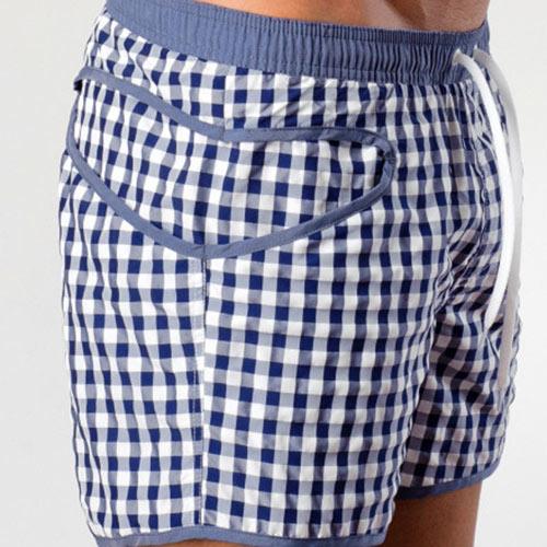 85185643da0 Kostičkované pánské šortkové plavky GERONIMO 1413 Silvester - Levné ...