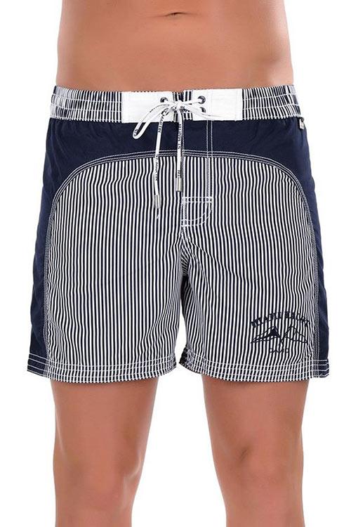 Pánské plavky - šortky námořnického stylu