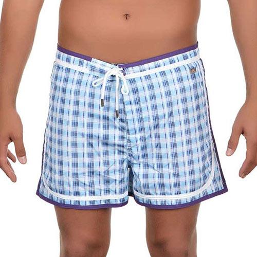 Plavkové šortky s kratší nohavičkou