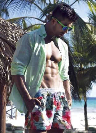 Luxusní pánské plavkové šortky David-Vacanze 2016