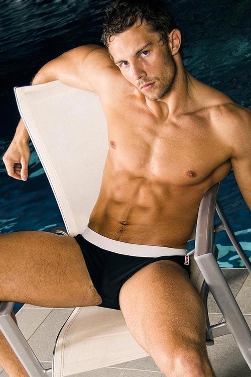 Opticky zeštíhlující pánské plavky