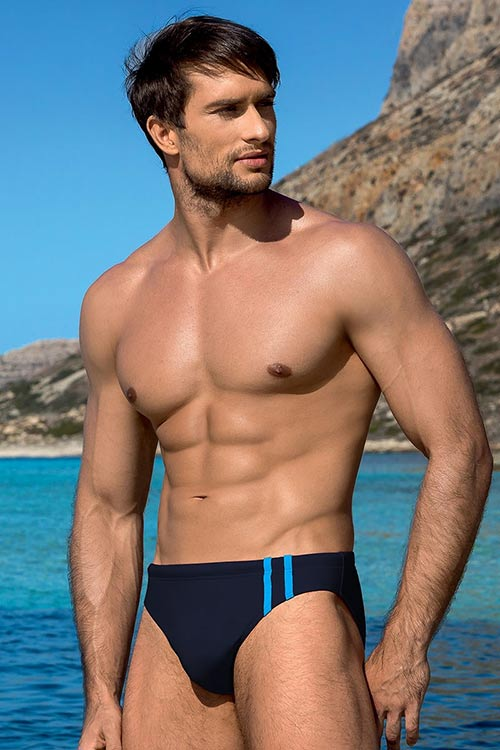 Tmavě modré pánské plavky