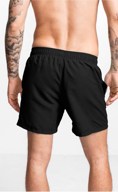 Černé pánské plavkové šortky