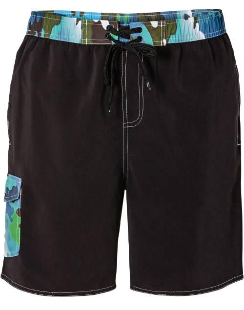 5d17665d5af Pánské plavkové šortky s vnitřními slipami - Levné pánské plavky