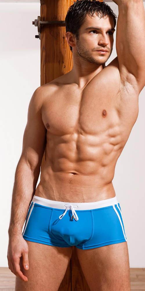 Sporotvní pánské plavky boxerky