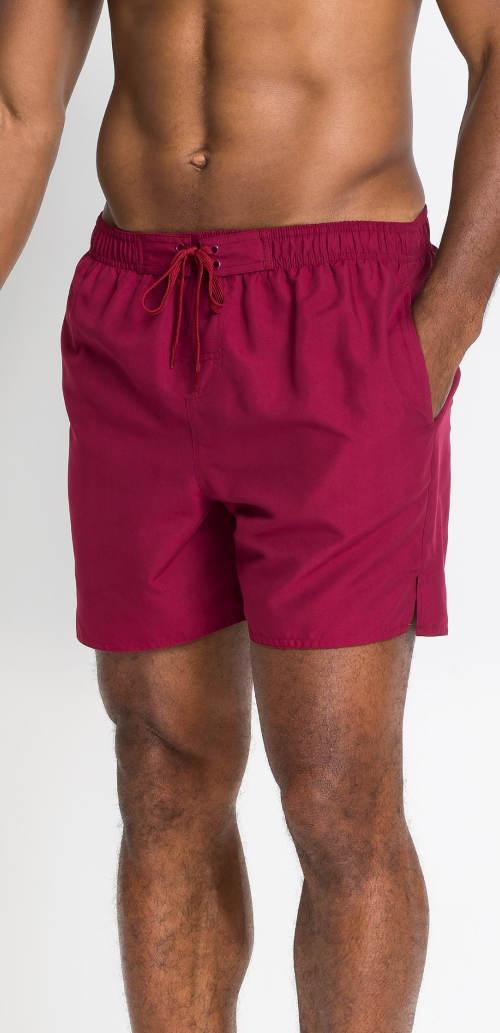 1d0c5e766 Jednobarevné pánské plážové šortky - Levné pánské plavky